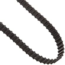 "Goodyear Engineered Products Dual Positive Drive Belt, Trapezoidal Tooth Profile, 0.200"" Pitch, XL (Extra Light) Profile, Inch"