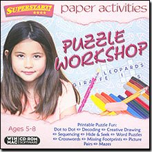 Arc Media Inc. Paper Activities: Puzzle Workshop