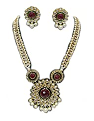 DESIGNER PEARL NECKLACE SET BY ZAVERI PEARLS
