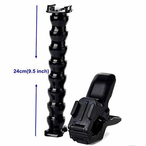 SHOOT-Suite-del-supporto-serpentino-supporto-forte-supporto-conveniente-supporto-regolabile-basamento-serpentino-a-8-tratti-per-le-fotocamere-cinetiche-per-Gopro-Hero-543321-SJCAM-SJ4000SJ5000SJ6000