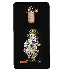 PRINTSHOPPII LORD GANESHA Back Case Cover for LG G4::LG G4 H815