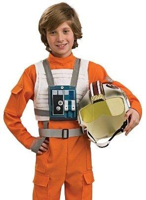 Rubies X-Wing Pilot Uniform Kids Star Wars Halloween