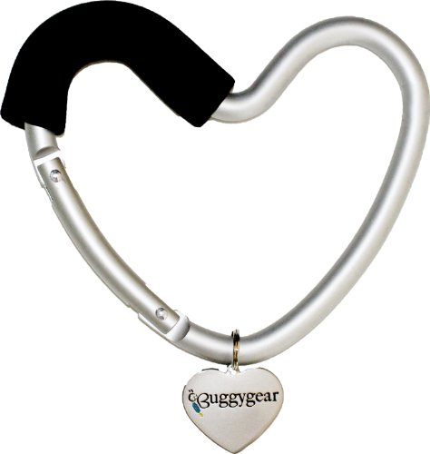Buggygear Heart Hook, Black/Silver - 1