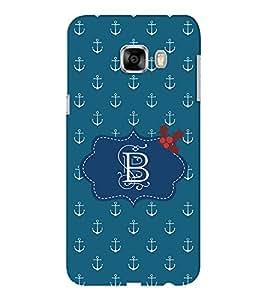EPICCASE anchor of B Mobile Back Case Cover For Samsung C5 (Designer Case)