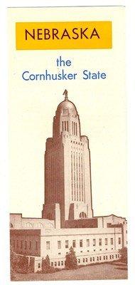 Nebraska The Cornhusker State Brochure 1950