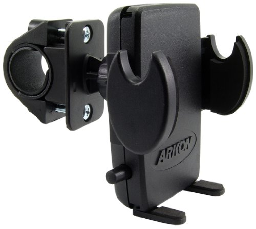 Arkon SM427 Universal Bicycle/Motorcycle Mount with Mega Grip Holder for iPhone, HTC EVO 4G, HD2, Droid Incredible, Droid X, Galaxy S