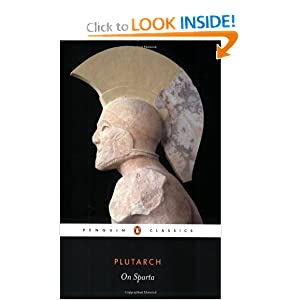 On Sparta (Penguin Classics) by Plutarch, Richard J. A. Talbert and Christopher Pelling
