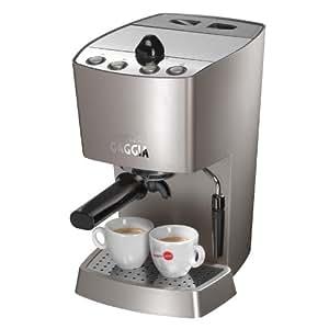 Gaggia Coffee Maker Espresso Baby Dose Silver : Amazon.com: Gaggia 102533 Espresso-Dose Semi-Automatic Espresso Machine, Warm Silver: Semi ...