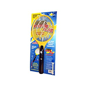 BugKwikZap YBUGZP000 Standard Bug Zapper Electric Fly Swatter Takes 2 AA Batteries, 2300-Volt, 1-Pack