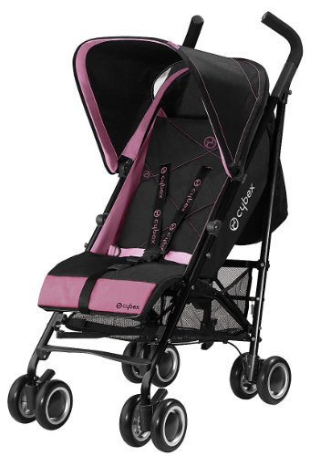 Cybex 2011 Onyx Black Stroller – Purple Potion