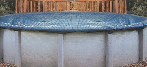 Swimline 15 x 30 Foot Oval Above Ground Swimming Pool Leaf Net Cover | CO91224 (Above Ground Pool Liners 15x30 compare prices)