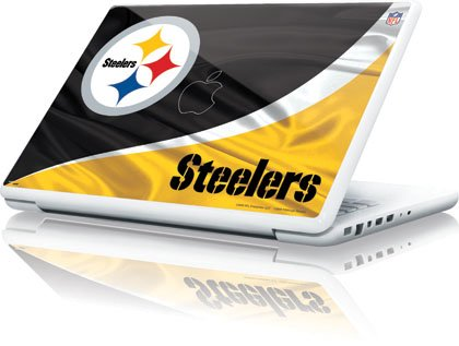 NFL - Pittsburgh Steelers - Pittsburgh Steelers - Apple MacBook 13-inch - Skinit Skin from SteelerMania