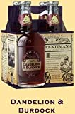 Fentimans Natural Soda, Dandelion & Burdock, 4 - 9.3 Ounce Bottles