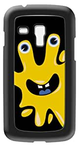 Modelabs Made In France Coque auto cicatrisante en silicone pour Samsung Galaxy S3 Mini Motif Monstre Jaune