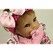 Sany Doll Reborn Baby Doll Soft Silicone 22inch 55cm Magnetic Mouth Lovely Lifelike Cute Boy Girl Toy