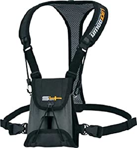 S4Gear LockDownX Binocular Harness (Black) for use with binoculars by Leupold,Nikon,Swarovski,Bushnell,Canon etc