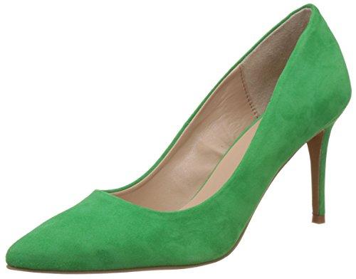 Carlton London Women's Margot Light Green Leather Pumps - 6 UK/India (39 EU)(CLL-3420)