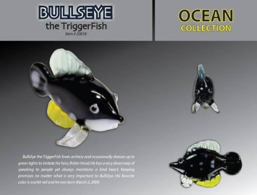 Looking Glass Bullseye Triggerfish - 1