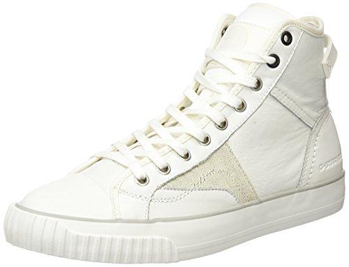 G-STAR Campus Scott Raw High, Scarpe da Ginnastica Alte Uomo, Bianco (Bright White 1322), 42 EU