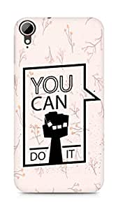 Amez You can Do It! Back Cover For HTC Desire 828