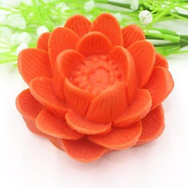Lotus Flower Shaped Chinese Style Fondant Cake Chocolate Silicone Mold Cake Decoration ToolsL10cm*W10cm*H4.5cm