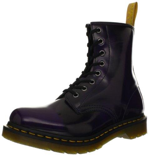 Dr Martens Women's Vegan 1460 Purple Lace Ups Boots 14585510 4 UK