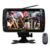 "Supersonic 7"" Portable LCD TV with ATSC Digital Tuner"