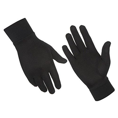 ALASKA BEAR - Natural Silk Gloves Thermal Liner Unisex (Ski Inserts compare prices)
