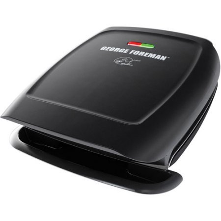George Foreman Classic-Plate Grill, Black, GR2060B (George Foreman Grill Gr2060b compare prices)