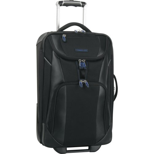 Timberland Luggage River Valley 21 Inch Rolling Expandable Upright, Black, One Size special discount