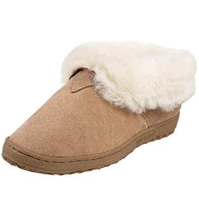 Old Friend Women's 441120 Slipper, Chestnut, 5 M US