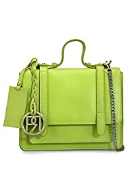 Phive Rivers Womens Sling Bag (Lime Green) (PR964)
