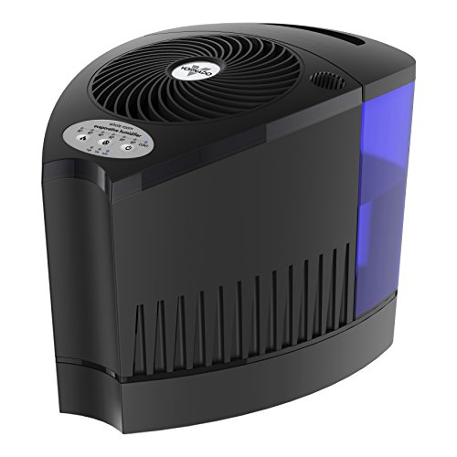 Vornado Evap3 Sound Room Evaporative Humidifier, Black