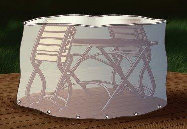 beo 980340 Schutzhüllen für Sitzgruppe oval 180 cm