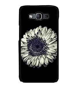 Printvisa Ultra Beautiful White Flower 2D Hard Polycarbonate Designer Back Case Cover for Sam...