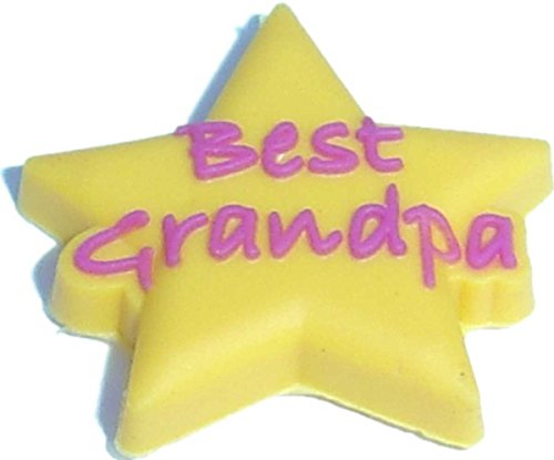 Best Grandma On Star Shoe Snap Charm Jibbitz Croc Style