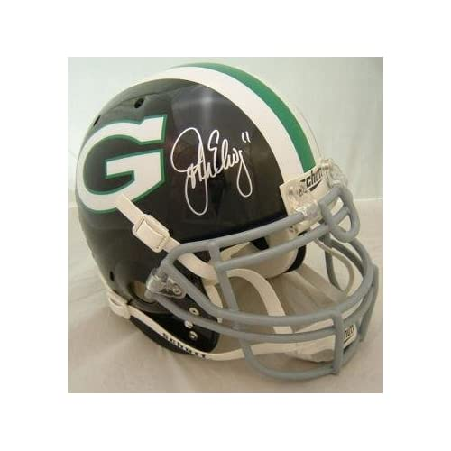 Signed John Elway Helmet - Grenada Hills High School Proline    John Elway High School
