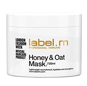 Label.M Honey & Oat Treatment Mask For Dry And Dehydrated Hair 4.05 Oz