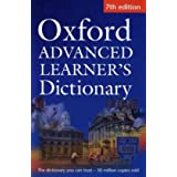 Oxford Advanced Learner's Dictionary 7th edition paperbackpar A.S. Hornby