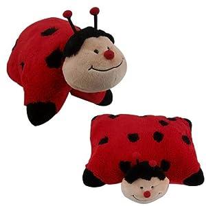 Animal Snuggle Pillows : Ladybird Pillow Cuddle Pet Animal Pillow Lady Bird Pillow Animal Cushion Plush Large 46x40 ...
