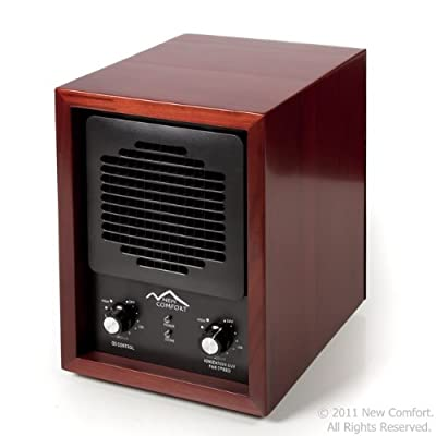 6 Stage Cherry Wood CH3500 New Comfort Ozone Air Purifier Cleaner Hepa Uv Covers 3500 feet