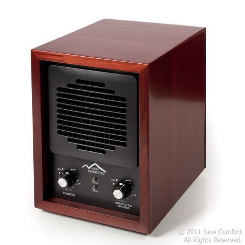 6 Stage Cherry Wood Ch3500 New Comfort Air Purifier Ozone Cleaner Hepa Uv Covers 3500 Feet front-520490