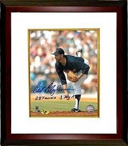 Bert Blyleven signed Minnesota Twins 8x10 Photo Custom Framed 287 Wins & 3701 K