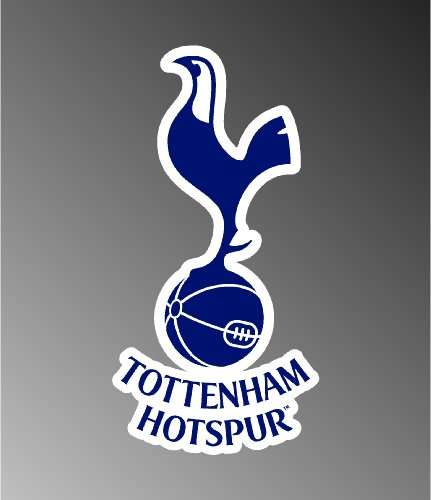 "TOTTENHAM SOCCER FOOTBALL DECAL STICKER 3""X5"""
