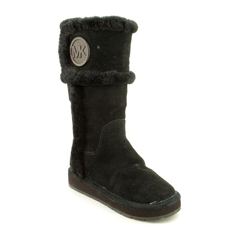 Michael Kors Winter Tall Boot Womens Size 10 Black Suede