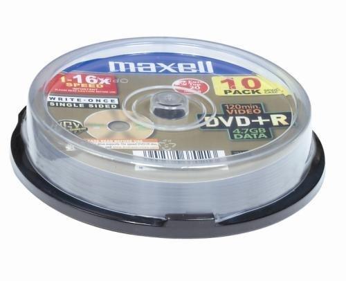 Maxell DVD+R SPINDLE DE 10 16X