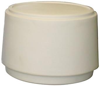 """Forte 8002294 Round Merchandiser, 21"""" Diameter x 16"""" Height, White"""