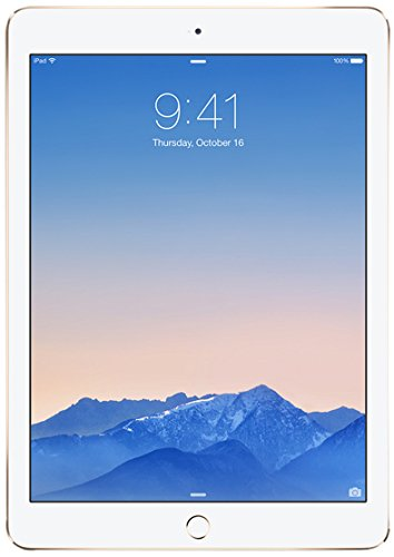 AIR2-16GB-GOLD iPad Air 2 with Retina Display 16GB Wi-Fi Gold
