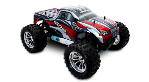 Redcat Racing Volcano S30 Red 1/10 Scale Nitro Monster Truck