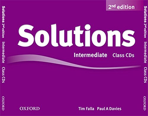 Solutions Intermediate: Class CD 2nd Edition (3) (Solutions Second Edition)